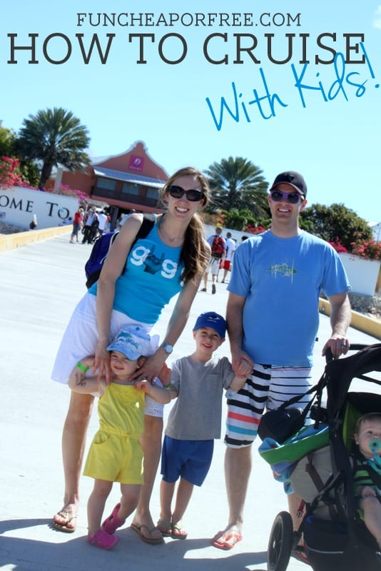 How to Cruise With Kids - everything you could possibly need or want to know!