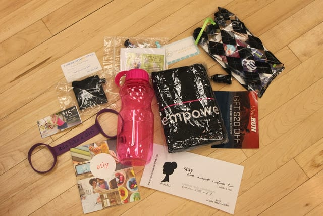 Focus on Fitness Swag Bags