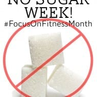 No Sugar Week! (…and trying not to cry…)