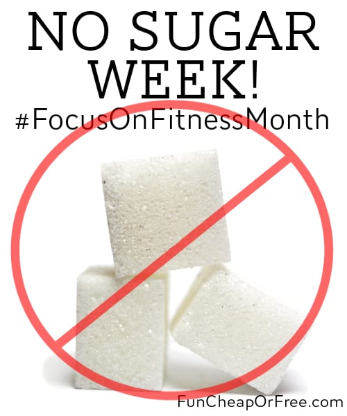 Focus on Fitness month - weekly challenges to help you get in shape FAST