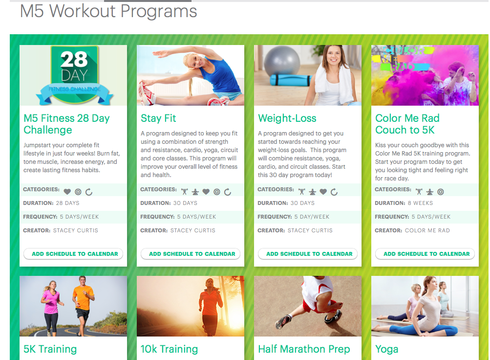 website with every fitness plan you could need