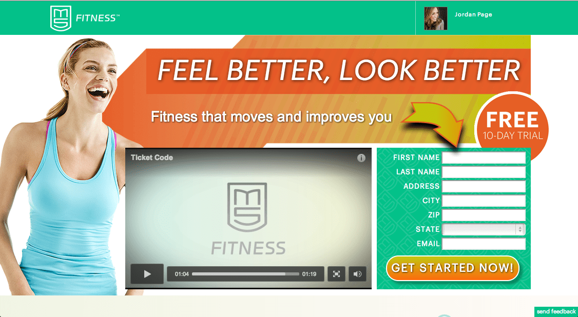 Great online fitness website