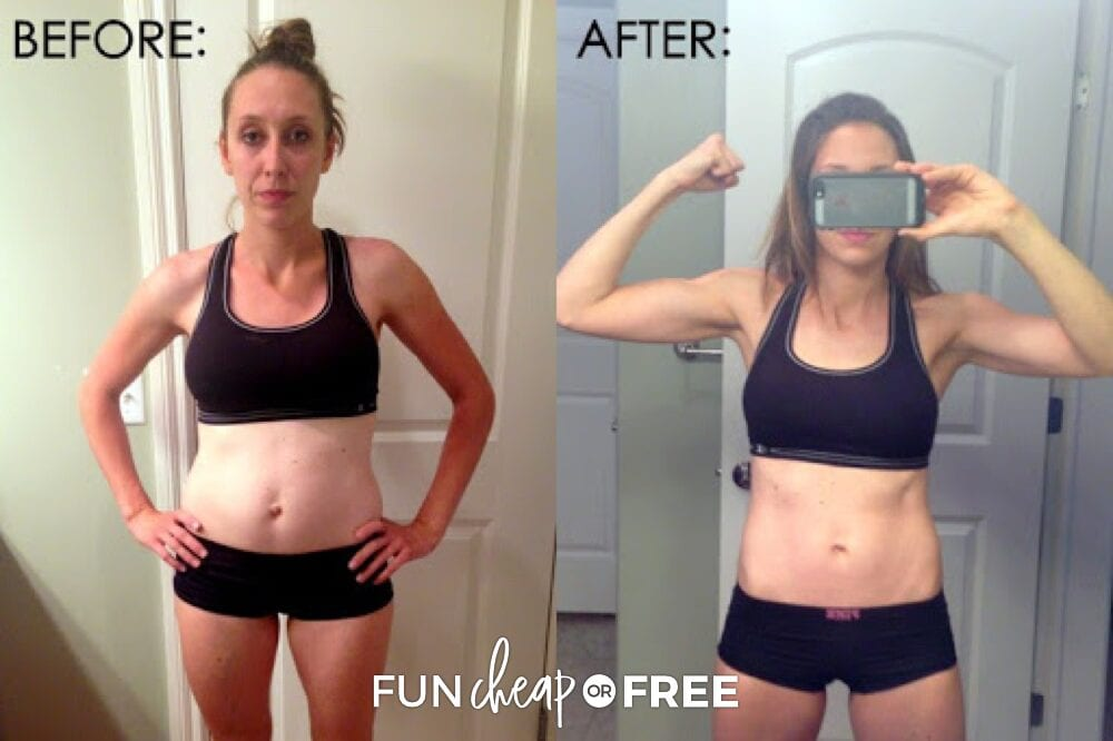 Jordan Page before & after weight loss, from Fun Cheap or Free