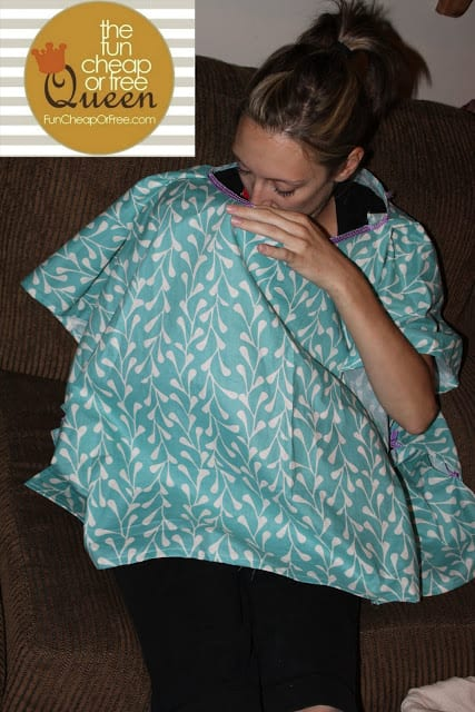 poncho nursing cover