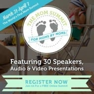Join me at The Mom Summit! (It's FREE, so you'd be crazy n..