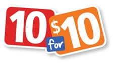 Are 10 for $10 specials really a good deal?