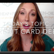 How to pay off credit card debt – reader Q&A
