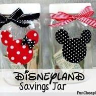 DIY Disneyland Savings Jar + 5 ways kids can earn money