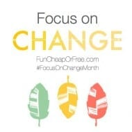 30 Days of Positive Change: May, Focus on Change Month