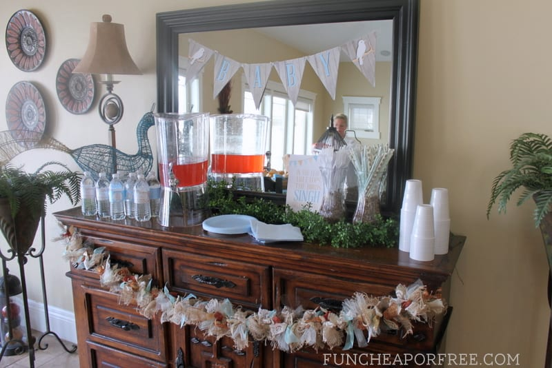 Bird-themed baby shower + tons of baby shower ideas!