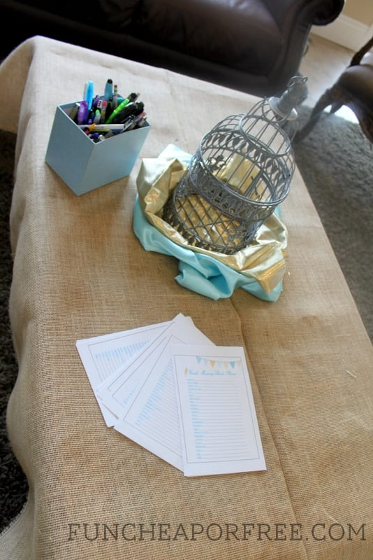 Baby Bird shower + Tons of baby shower ideas