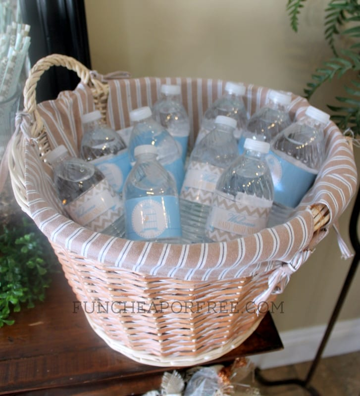 bird-themed baby shower ideas