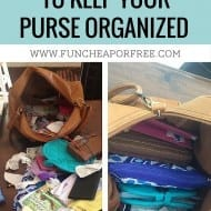 4 Simple tricks for keeping your purse organized
