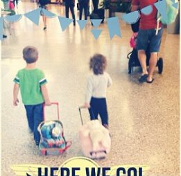 Tips and tricks for traveling with kids