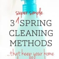 3 spring cleaning tricks (that keep your home clean all year!)