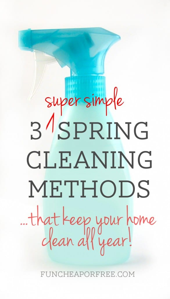simple spring cleaning tricks
