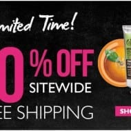 The Body Shop discount: 40% off + free shipping!