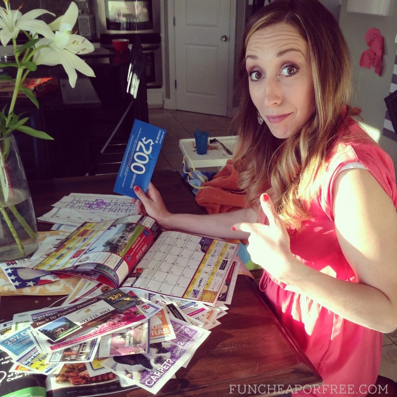 easy way to sort junk mail and coupons!