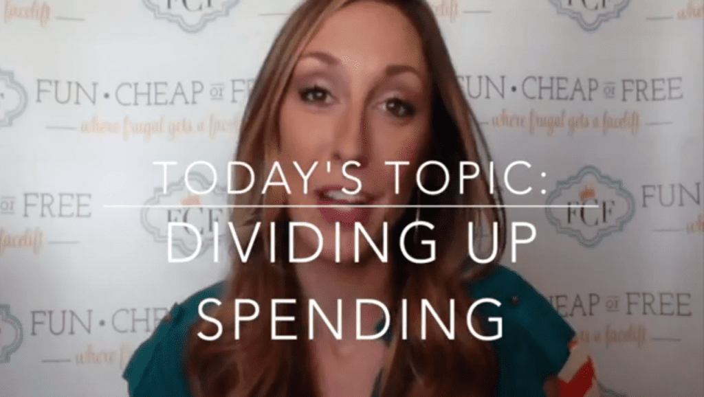 How to divide up spending responsibilities in the home