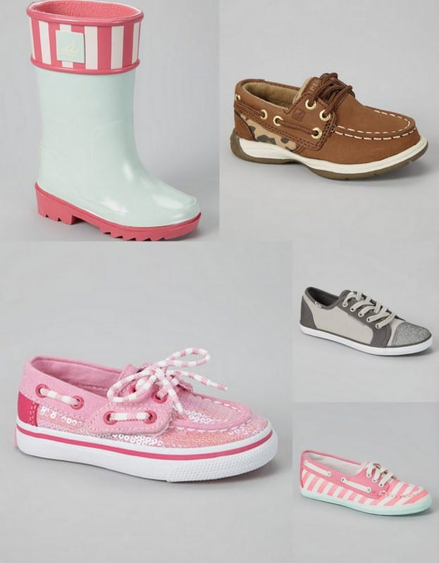 Sperry kid shoes for 50% off