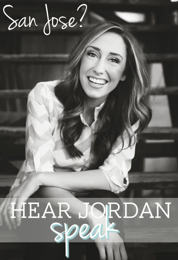 Hear Jordan Speak in San Jose