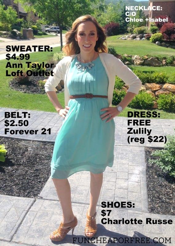 Frugal fashion for summer