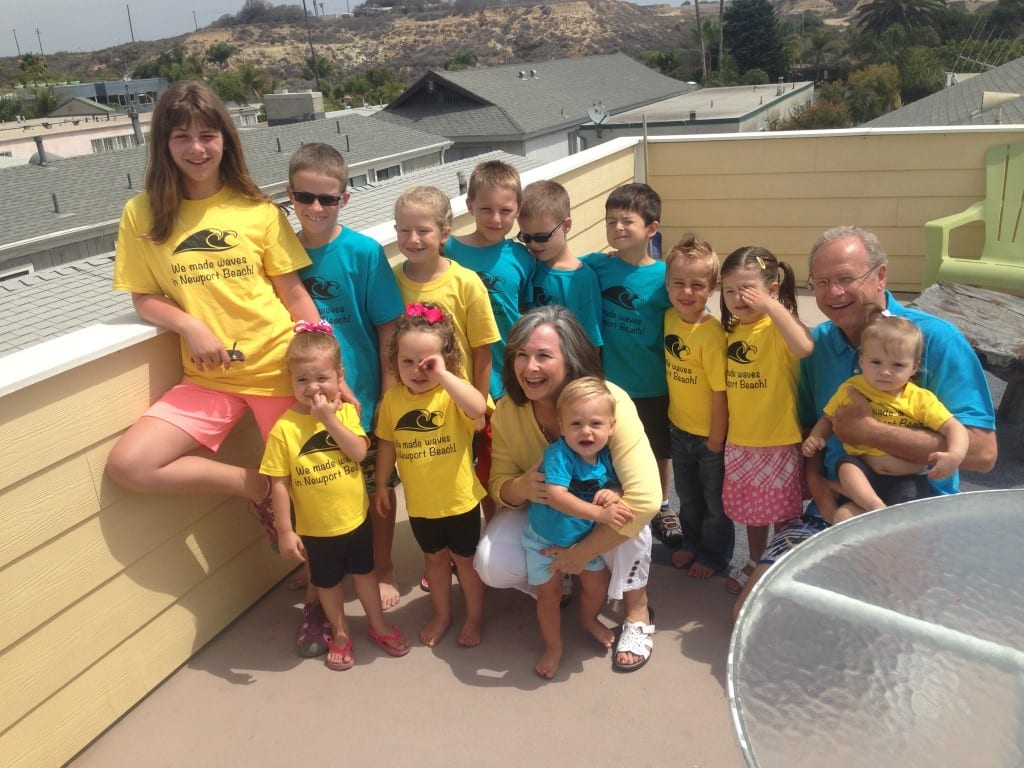 Family vacation in Newport, CA...and these is just the kids!
