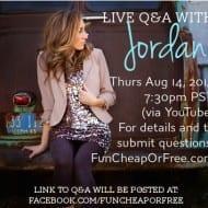 Live Q&A Tomorrow!! (Aug 14)