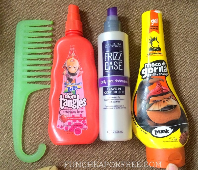 GREAT products to tame kids' wild hair!