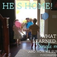 """What I learned as a """"single mom"""": 1 dozen survival tips th.."""