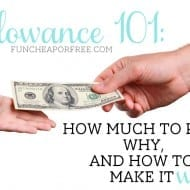 Allowance 101: How much to pay, why, & how to make it work for ev..