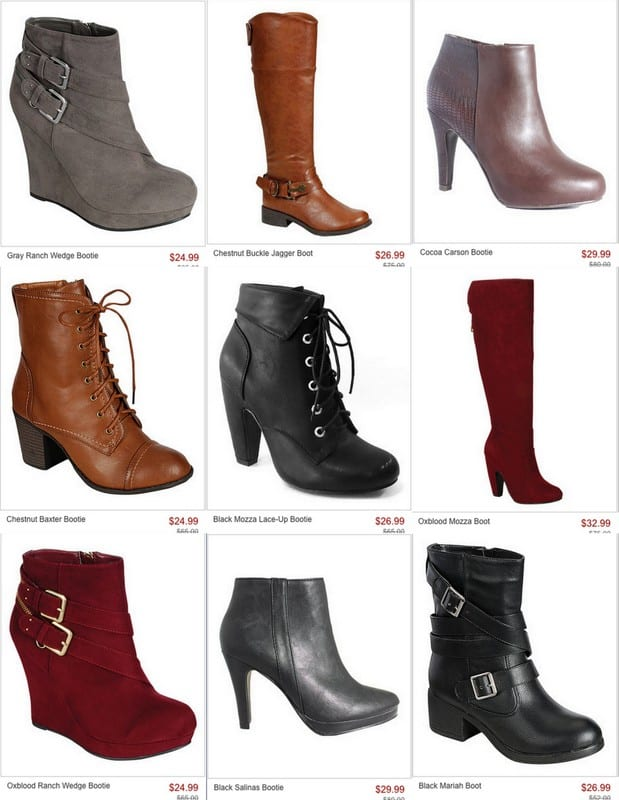 Cute boots for a great price!