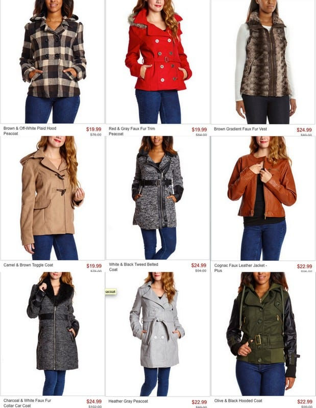 Cute fall coats for an amazing price!