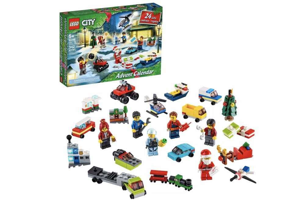 Lego City advent calendar from Target, from Fun Cheap or Free