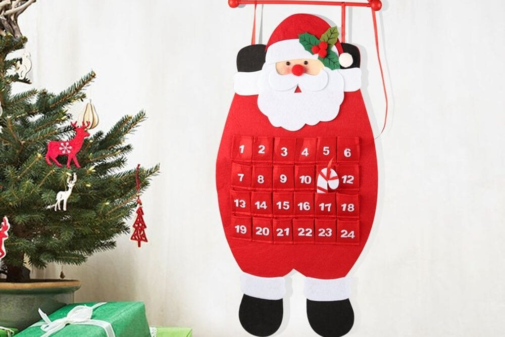 Countdown to Christmas advent calendar from Walmart, from Fun Cheap or Free
