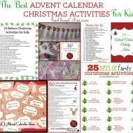 The Best Advent Calendar/Christmas Activities for Kids! (a roundup)