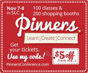 Pinners conference UTAH, $5 off with code FunCheapFree