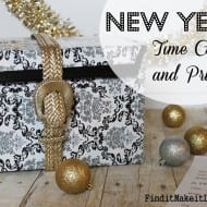 DIY New Year's time capsule! [Free printable included]