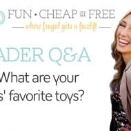 Q&A: What are your kids' favorite toys?