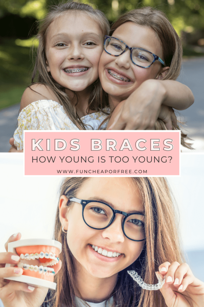 """Image with text that reads """"kids braces"""" from Fun Cheap or Free"""