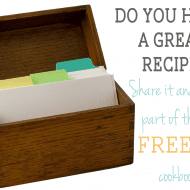 Want to write a COOKBOOK with ME???
