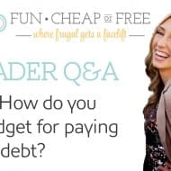Q&A: How do you budget for paying off debt?