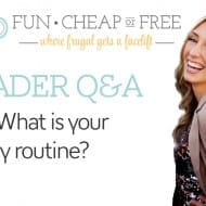 Last of the Q&A posts: daily routine, date night, where I shop, a..