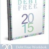 Soon To Be Debt Free – FREE debt workbook!