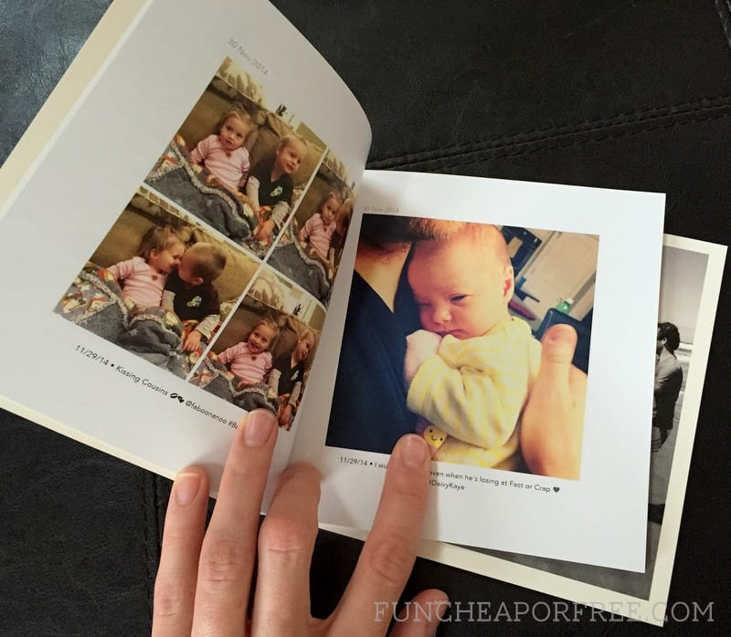 Only $6 for a 60 page 6x6 photo book, + free shipping! From FunCheapOrFree.com