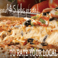 Get Paid $5 + Get a Free $20 Pizza!! [Frugal Find Friday]
