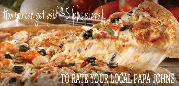 How to get paid to rate your pizza from FunCheapOrFree.com
