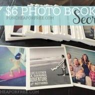 My $6 photo book secret…