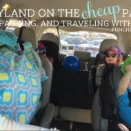 DISNEYLAND ON THE CHEAP: Part 2 – Prep, Packing, and Traveling (..