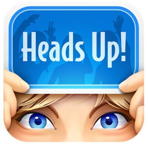 heads up app - so fun to play!